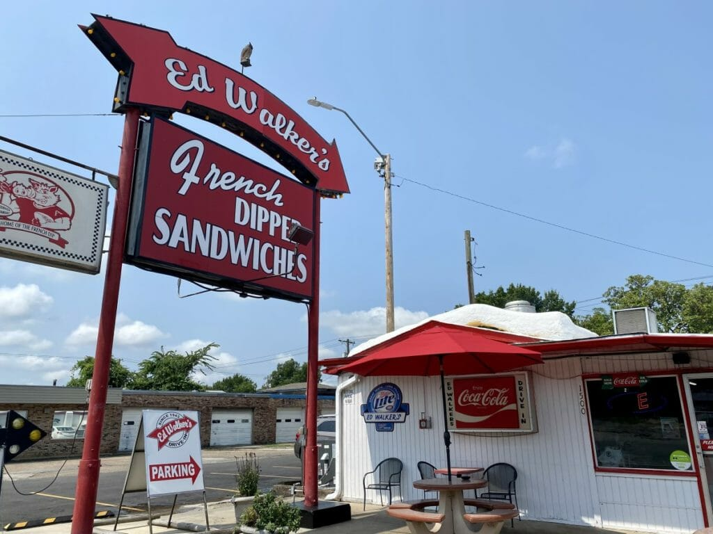 Classics: French Dip at Ed Walker's Drive-In