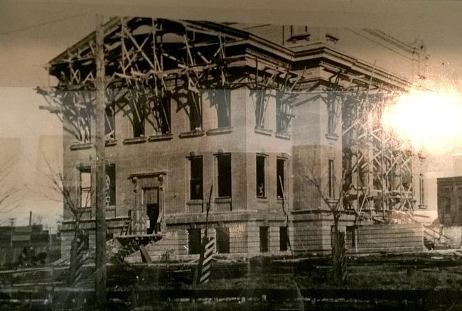 Osceola Courthouse under construction