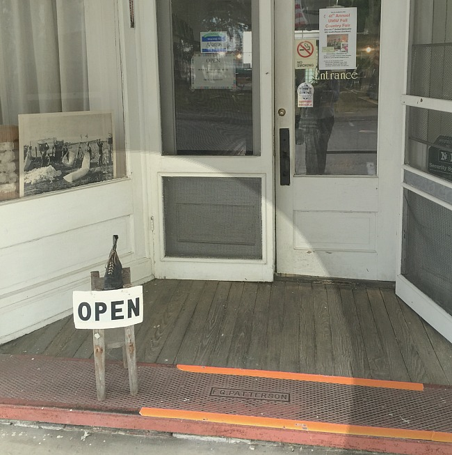 Patterson Store - Open for business!