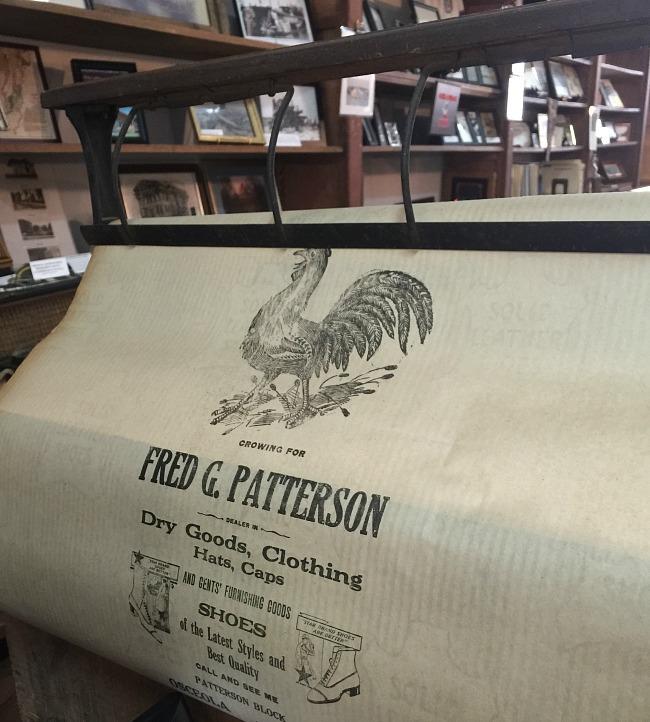Patterson Store - original paper