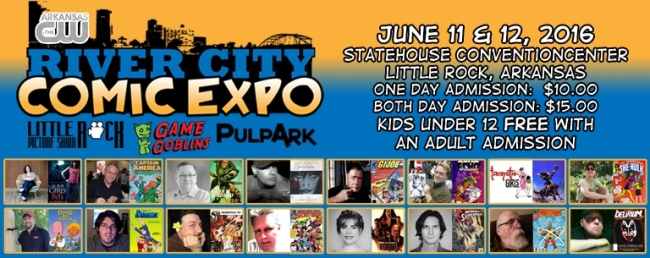 River City Comic Expo 2016