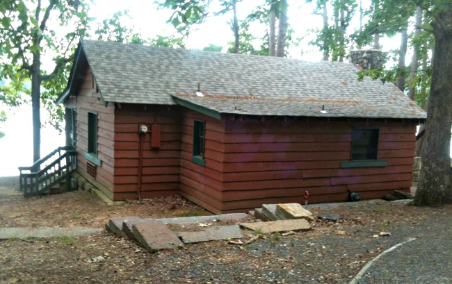 CCC Style Cabins - Lake Catherine