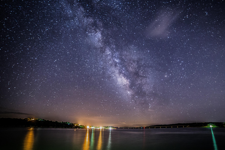 Arkansas Summer Bucket List - see the Milky Way