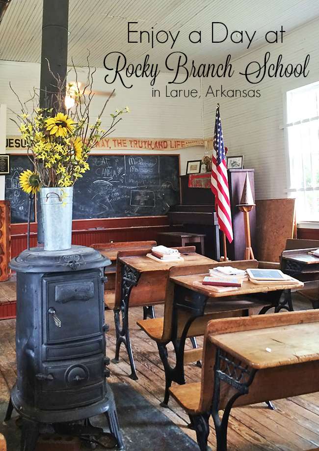 Enjoy a Day at Rocky Branch School in Larue, Arkansas