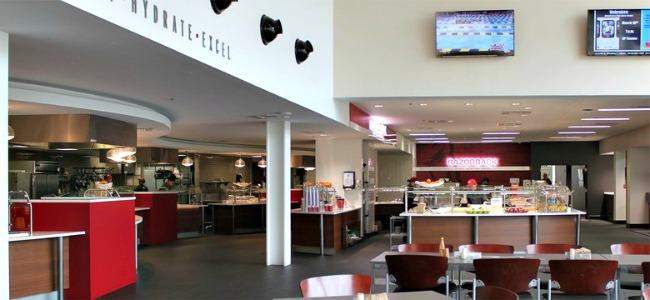 UA Nutrition Center Service areas