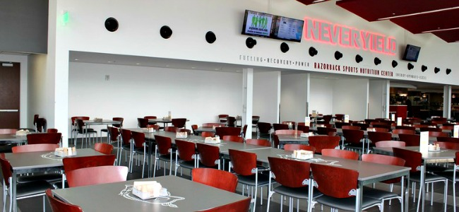 UA Nutrition Seating area picture