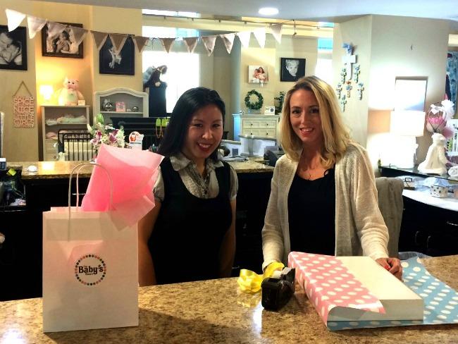gift wrap desk ladies