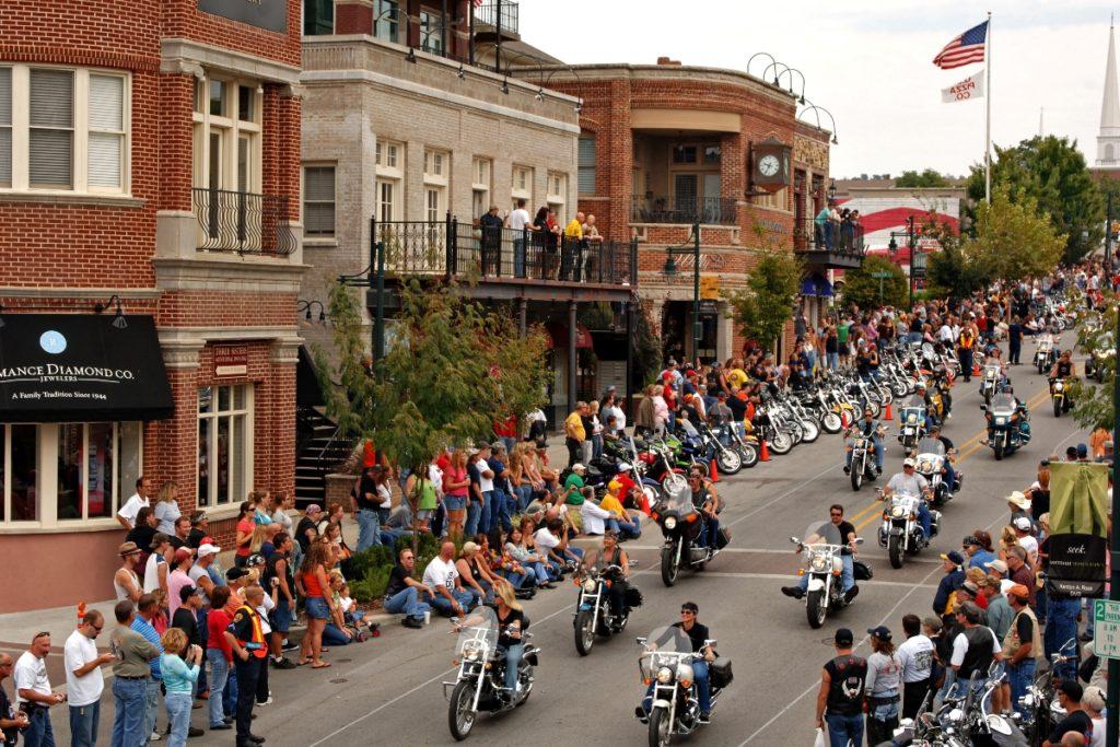 Music Festivals in NWA - Bikes Blues & BBQ