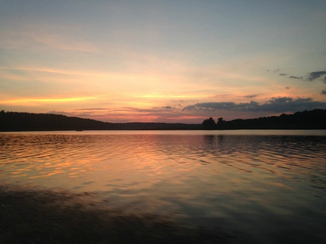 bull shoals sunset bowfishing