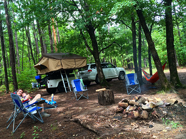 Dispersed Camping In The Natural State Only In Arkansas