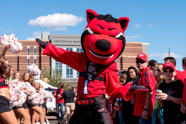 The Missouri Tigers take on the Arkansas State Red Wolves during an NCAA college football game Saturday, September 12, 2015 in Jonesboro, AR.