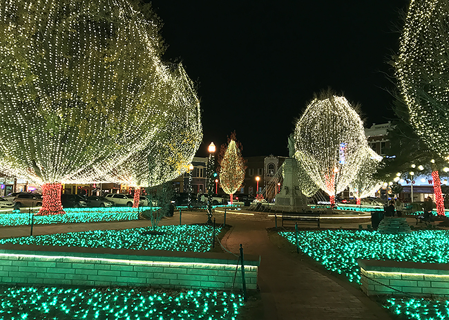 Celebrate Christmas On The Bentonville Square Only In