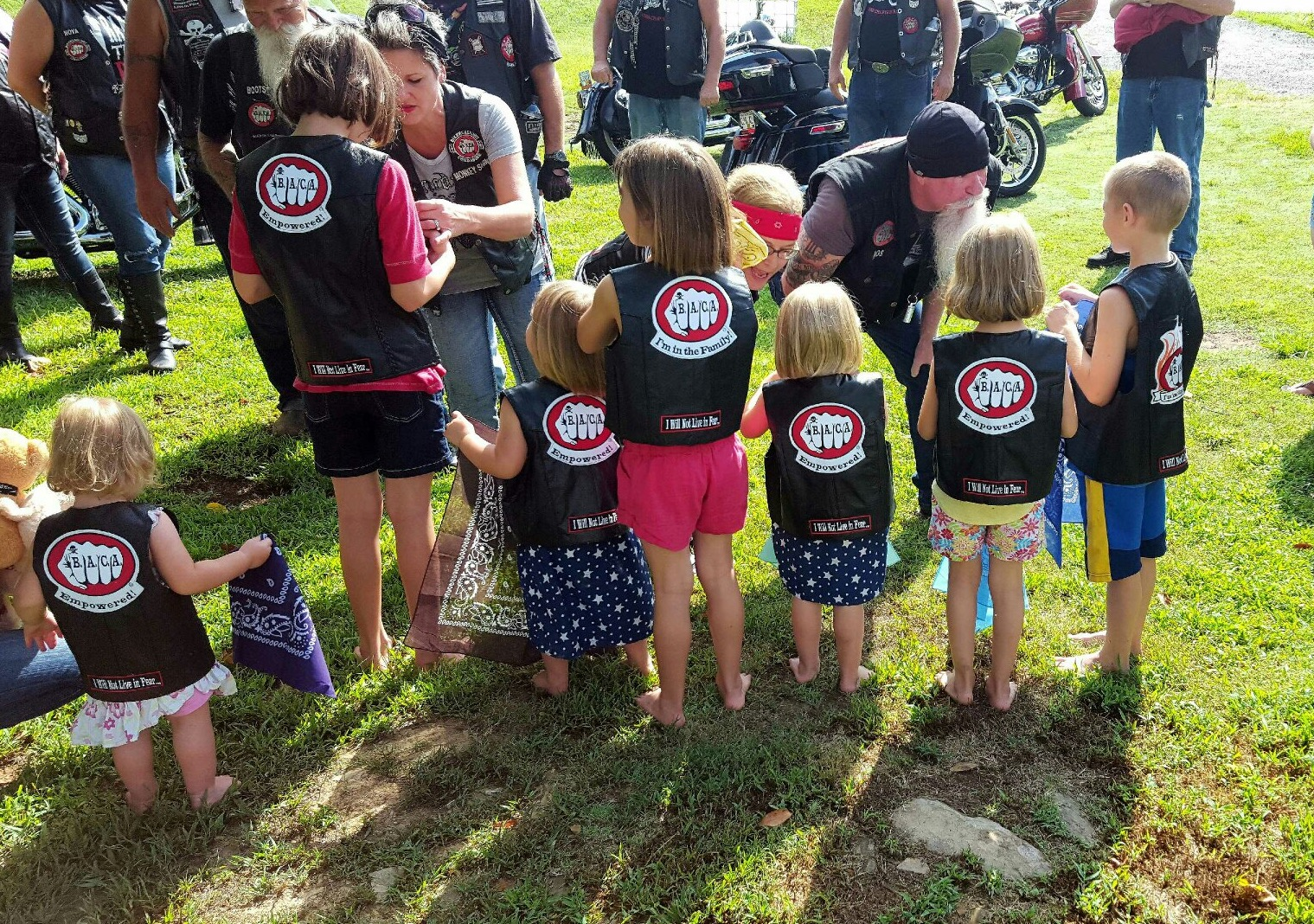 BACA: Bikers Roar in to Protect Children - Only In Arkansas