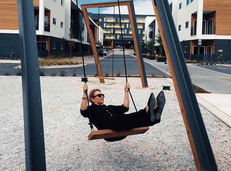 Realize, girls on the adult swings pity
