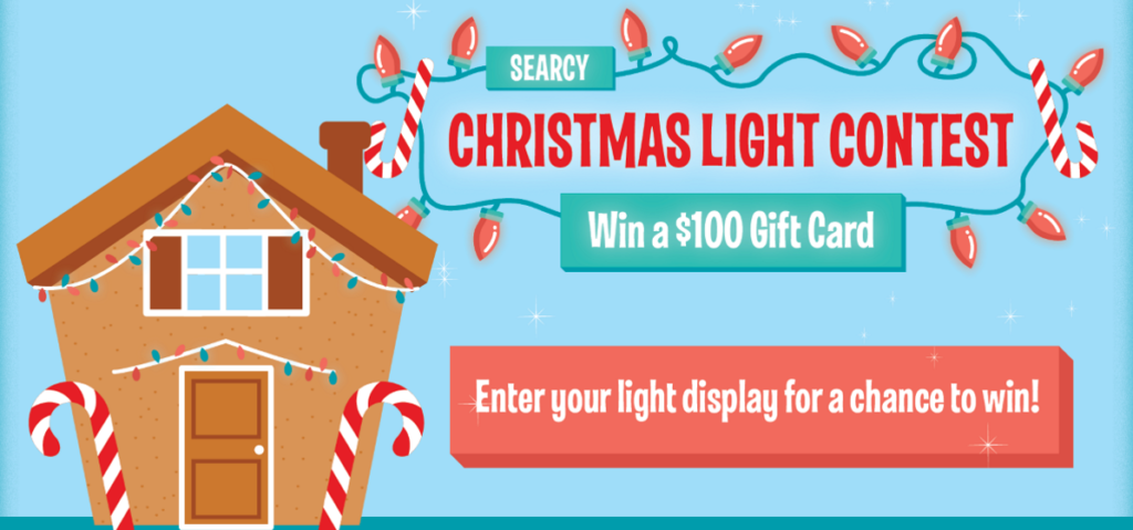 searcy christmas light contest