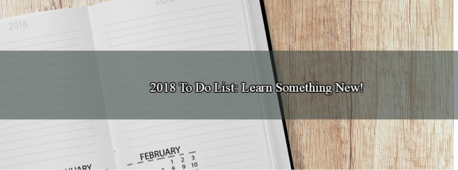 how to learn to do something new