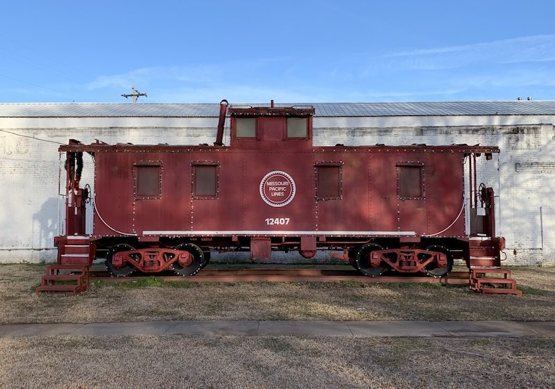 Historic Trains of Arkansas, A Series - Cabooses | Only In Arkansas