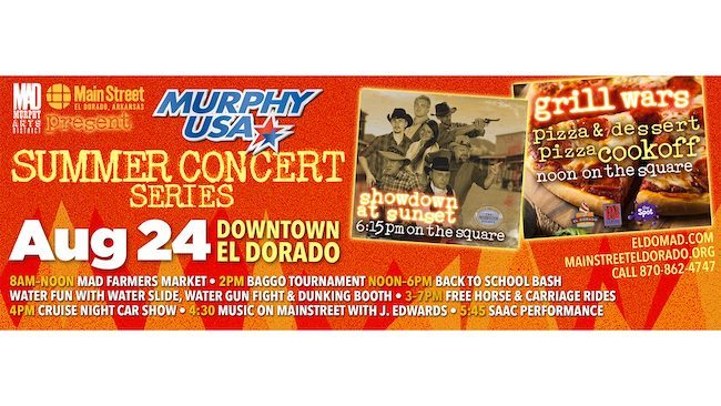 weekend - El Dorado Summer Concert Series