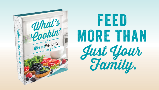 What's Cookin' at First Security Cookbook