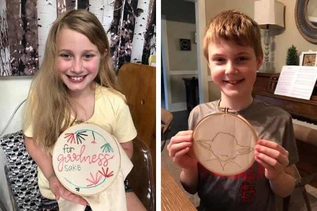 Make.Do. Quarantine Camp Embroidery