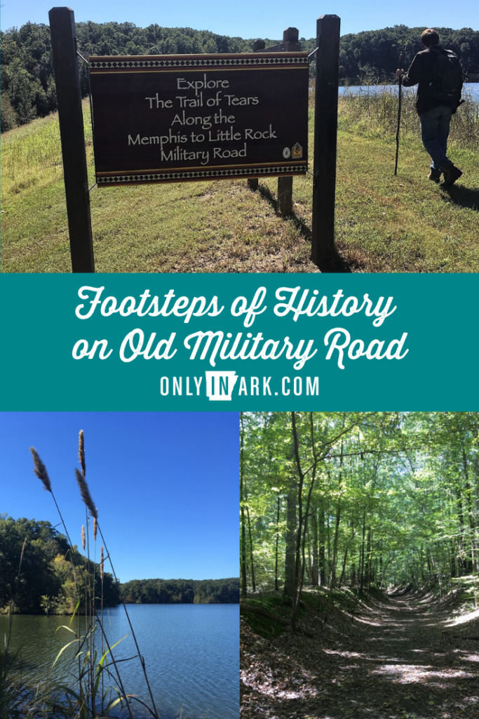 Old Military Road - Trail of Tears - Arkansas