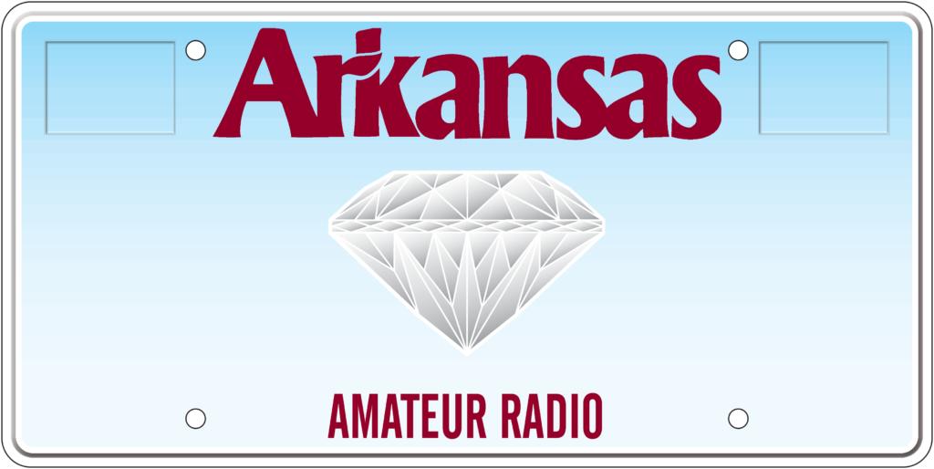 Arkansas License Plates