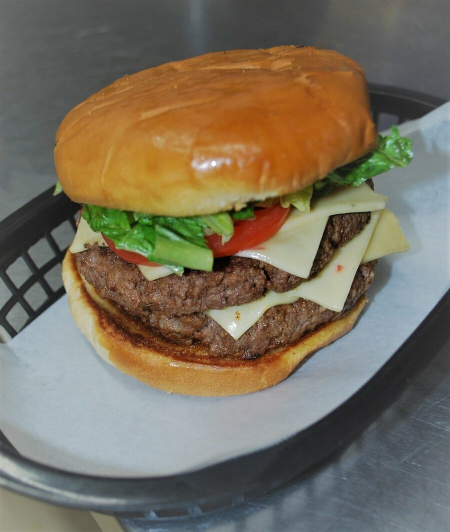 double cheeseburger from lorado grill