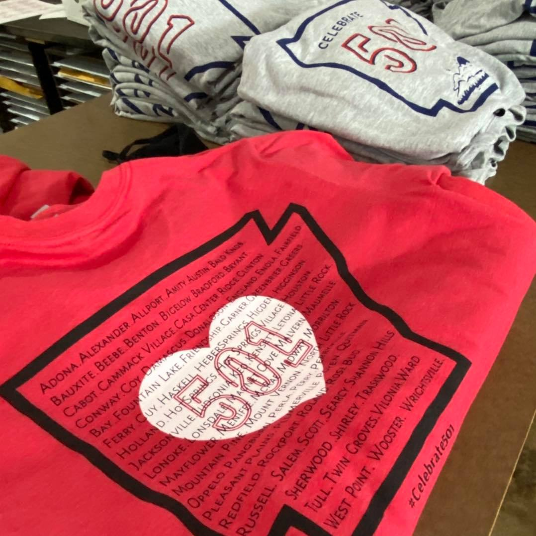 Celebrate 501 Day shirts from Rock City Outfitters