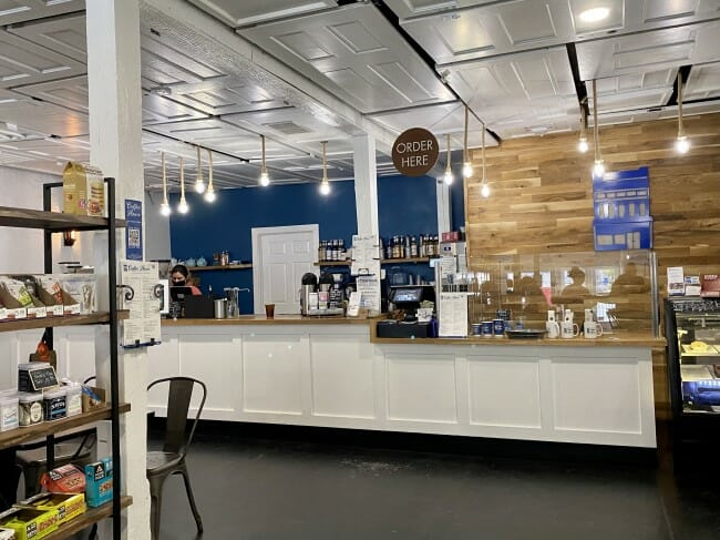 Eureka Springs Coffee House inside