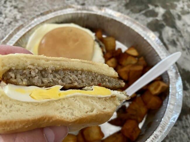 Eureka Springs Coffee House breakfast