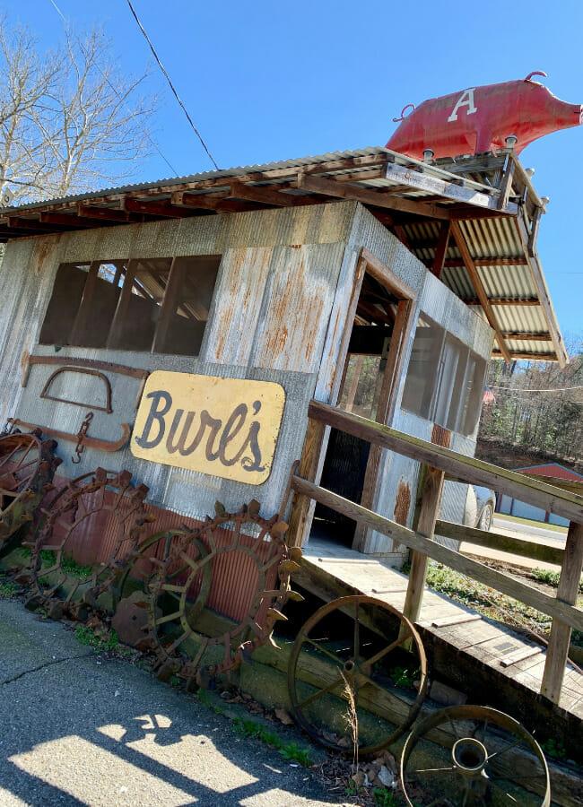 Burl's Smokehouse: Big Rolls and Beef Sticks