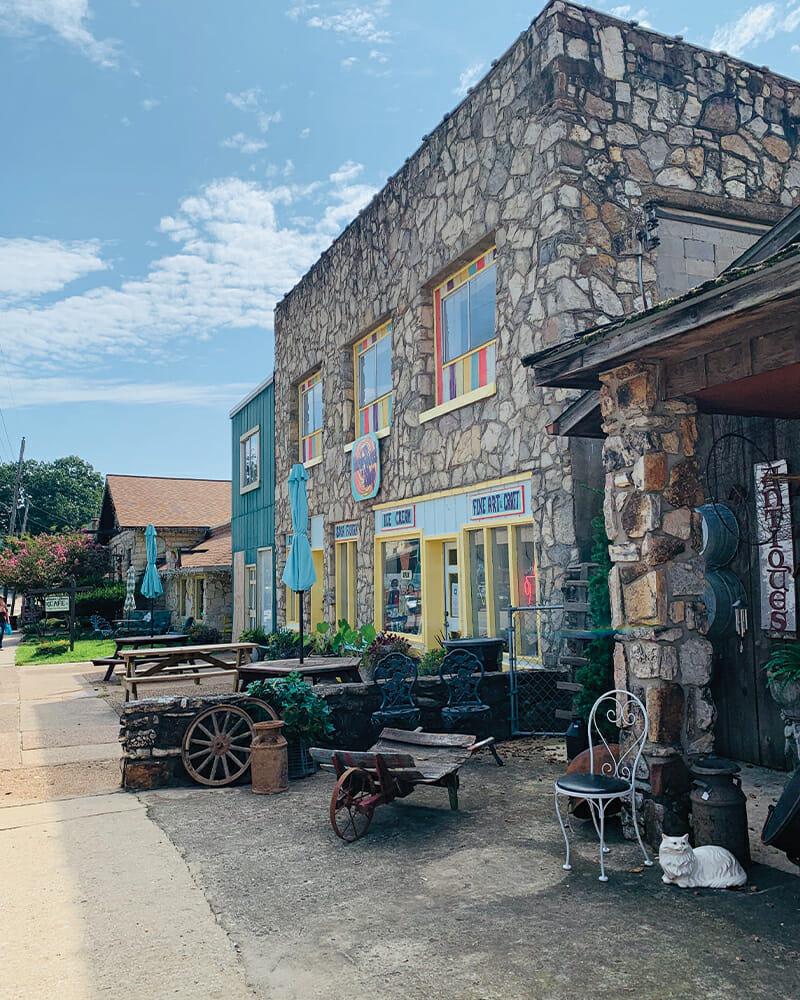 Downtown Hardy, Arkansas