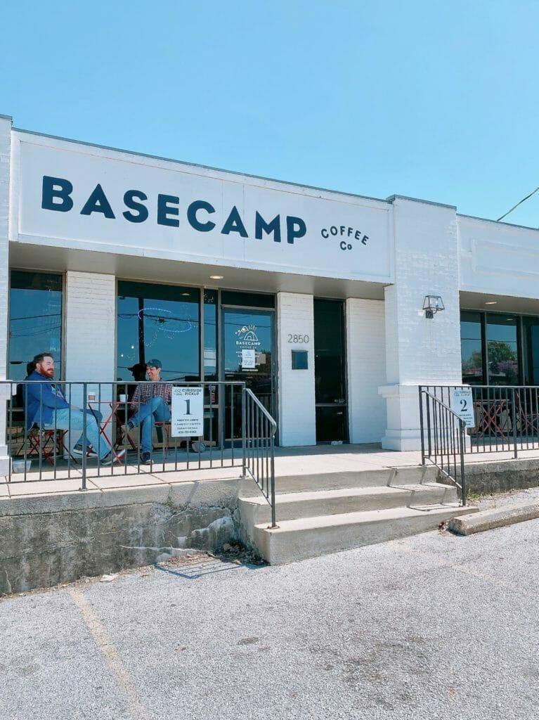Basecamp Coffee Fayetteville Arkansas