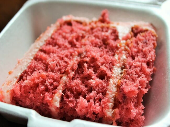 Strawberry Desserts - Strawberry Cake from Charlotte's Sweets & Eats