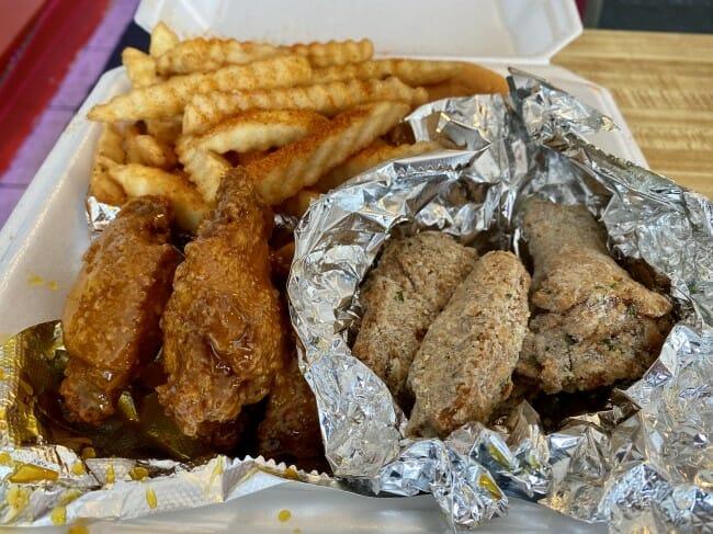 Bosses Chicken in England, Arkansas - wings & fries