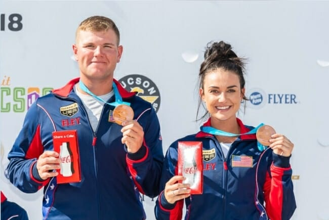 Kayle Browning, Olympic trap shooter from Wooster, Arkansas