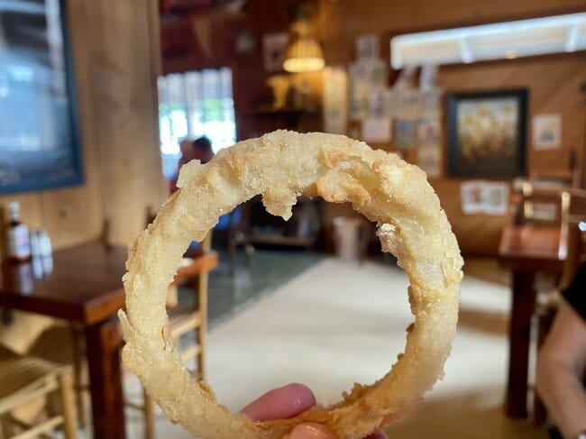 Fisher's Onion Rings at Seaton's Scott Place