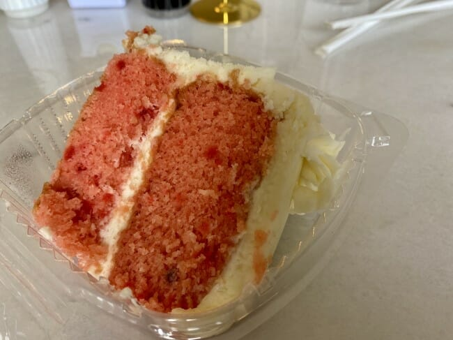 Two Sisters Catering & Café - strawberry cake