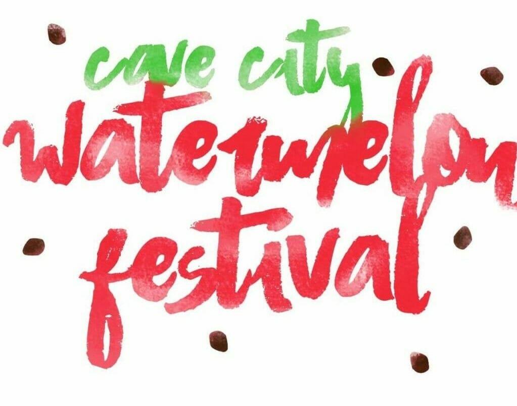 Cave City Watermelon Festival logo