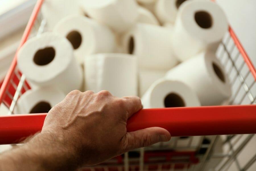 hoarding toilet paper - National Preparedness Month In Arkansas