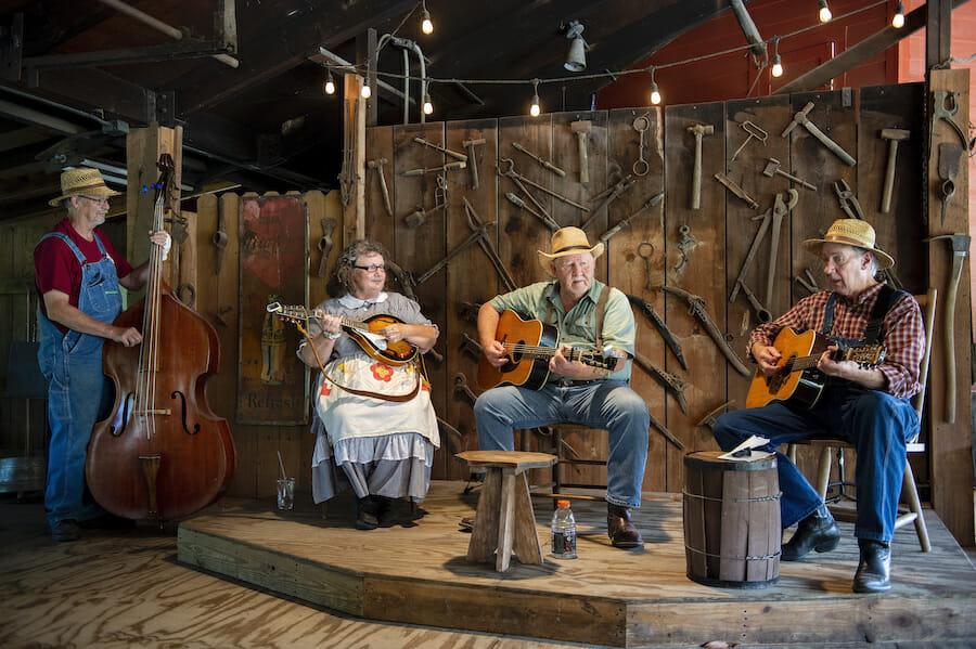 Ozark Folk Center in Mountain View, Arkansas