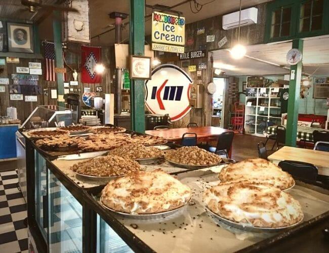 Pies at Oark General Store