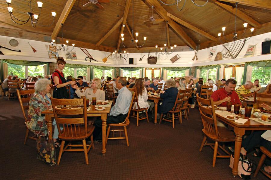 The Skillet Restaurant at the Ozark Folk Center in Mountain View, Arkansas